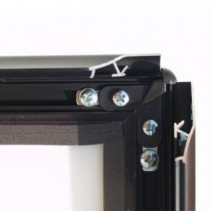 Stoepbord Deluxe A1 Zwart (part A+B)