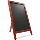 Krijtstoepbord Mahonie 55x85cm (enkel)