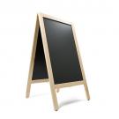 Krijtstoepbord BLANK bxh 75x135cm