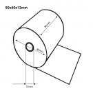 Thermische kassarollen / bonrollen 80x80x12 FSC inhoud (30 rollen)